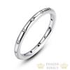 Köves karika gyűrű, Ezüst, 6