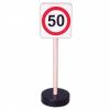 KRESZ-tábla (sebesség korlátozás)