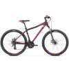 """Kross MTB WOMAN Női hegyi kerékpár LEA 3.0 17"""" S - matt lila / rózsaszín / narancssárga"""