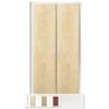 KSPS 02EL fém irattároló szekrény laminált bútorlap ajtóval