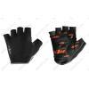 KTM Factory Team II rövid ujjú kesztyű zselés betéttel, fekete S-es