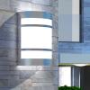 kültéri fali rozsdamentes acél lámpa