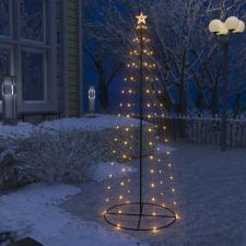 Kúp alakú karácsonyfa 100 meleg fehér LED-del 70 x 180 cm karácsonyi dekoráció