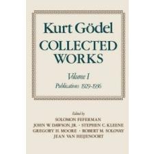 Kurt Goedel: Collected Works – Kurt Godel idegen nyelvű könyv