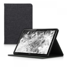 kwmobile Huawei MediaPad M5 10 flip tok - szürke tok és táska