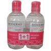 Laboratoire Bioderma Bioderma Sensibio H2O arc- és sminklemosó 250ml+250ml DUO PACK