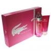 Lacoste Touch Of Pink női parfüm Set (Ajándék szett) (eau de toilette) edt 90ml + Testápoló tej 150ml