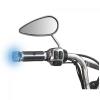 """LAMPA """"Blue-Wings"""" - Univerzális LED Motoros Kormányvég - 17/23mm"""
