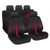 """Lampa """"Speed"""" 9db-os üléshuzat szett - Légzsákos / Osztható - Fekete-Piros"""