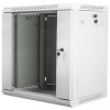 """Lanberg 19"""" fali rack szekrény 12U 600x450mm szürke (üvegajtó)"""