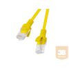 Lanberg Patchcord RJ45 cat. 5e UTP 15m yellow