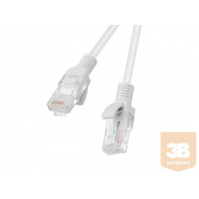 Lanberg Patchcord RJ45 cat. 5e UTP 1m grey kábel és adapter