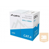Lanberg UTP solid cable, CCA, cat. 6, 305m, gray