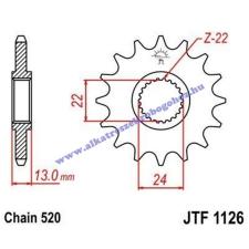 Lánckerék első JTF1126 520 16 fogas lánc, láncszett