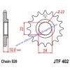 Lánckerék első JTF402 520 16 fogas