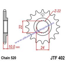 Lánckerék első JTF402 520 16 fogas lánc, láncszett