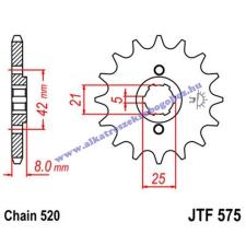 Lánckerék első JTF575 520 15 fogas lánc, láncszett