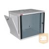 """Lande LN-EUBOX09U5460-LG-1 EURObox 9U 540x600 fali rack szekrény 19"""" RAL7035 szürke"""