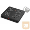 Lande LN-FAN-ONF-4FFS-BL Ventilátor egység Álló rack szekrényhez 4 ventilátor ON/OFF RAL9005 fekete