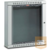 "Lande LN-RS06U5430-LG NETbox HOME 6U 600x300 fali rack szekrény 19"" RAL7035 szürke"