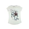 Lányka Rock&Roll flitteres rövid ujjú póló (méret.128-164)