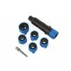 Laser Tools Kerékcsavar tisztító 6+2 db-os klt. (LAS-6602)