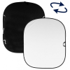 Lastolite LB5921 Plain Coll háttér 1.8x2.1m (fekete/fehér)
