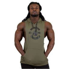 LAWRENCE HOODED TANK TOP - ARMY GREEN (ARMY GREEN) [M]