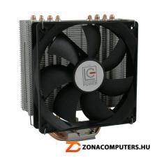 LC-Power LC-CC-120 Cosmo Cool hőcsöves 4pin PWM max180W 12cm univerzális cpu hűtő hűtés