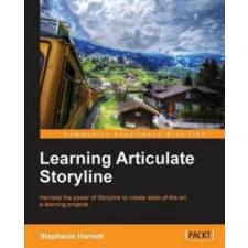 Learning Articulate Storyline – Stephanie Harnett idegen nyelvű könyv