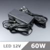 LED Adapter 12 Volt, dugvillás, (5A/60W) OP