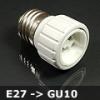 LED Labs Lámpa foglalat átalakító E27-GU10