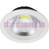 LED mélysugárzó   spot   beépíthető   kerek   COB   30W hideg, meleg fény