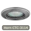 LEDvonal Halogén spot, beépíthető, Horn CTC-3114 grafit-nikkel