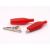 LEDvonal Krokodil csipesz (25 mm) piros. LED szalagok szereléséhez
