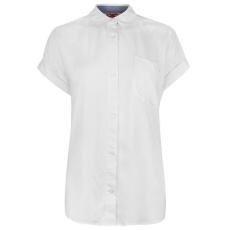 Lee Cooper női ing - Lee Cooper Short Sleeve Shirt Ladies White