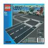 LEGO City - Egyenes út és kereszteződés 7280