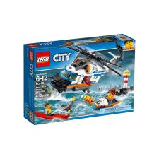 LEGO City  Nagy teherbírású mentőhelikopter 60166 lego