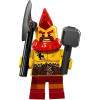 LEGO col17-10 Minifigura 17. sorozat - Harci törpe