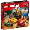 LEGO Juniors  Mennydörgés Völgyének őrült nyolcas versenye 10744