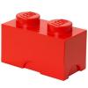 LEGO LEGO 1x2 tárolódoboz - piros (40021730)