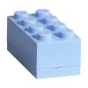 LEGO LEGO 2x4 mini tárolódoboz - világos kék (40121736)