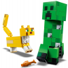 LEGO Minecraft BigFig Creeper és Ocelot (21156)
