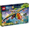 LEGO Nexo Knights Aaron X-hajója 72005