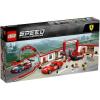 LEGO Speed Champions 75889 Exkluzív Ferrari garázs