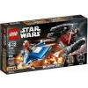 LEGO Star Wars A-szárnyú vs. TIE Silencer Microfighters 75196