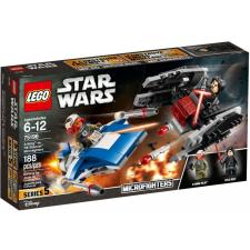 LEGO Star Wars A-szárnyú vs. TIE Silencer Microfighters 75196 lego