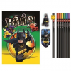 LEGO Stationery LEGO Batman film papíráruk készlet notebook