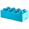 Lego Storage tároló doboz 8250 x 500 x 180 mm - cián