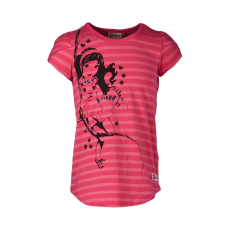 LEGO TANISHA307-458-134 - LEGO Wear Friends Tanisha 307 lány pink csíkos flitteres t-shirt 134-es méretben